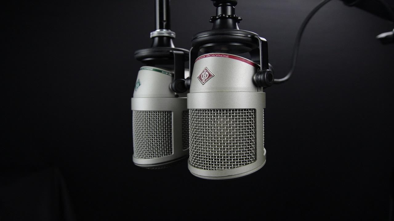 Recording microphones